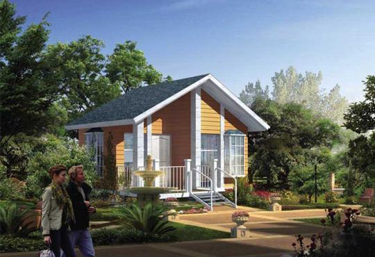 单层木屋别墅