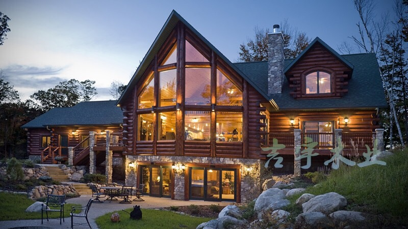 欧式双层木屋