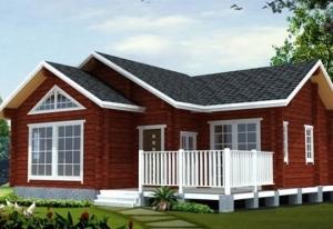 单木屋别墅