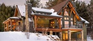 北欧双层木屋