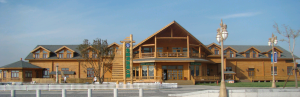 太仓游客中心双层木屋